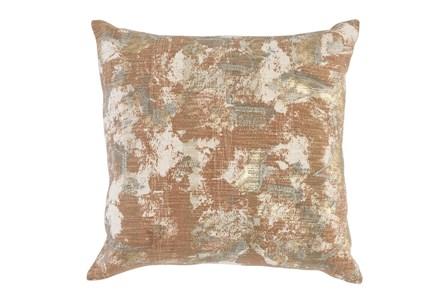 Accent Pillow - Mottled Copper 22X22 - Main