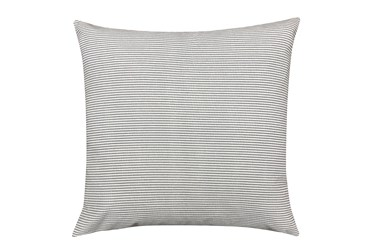 Accent Pillow-Edgar Graphite 22X22 By Nate Berkus And Jeremiah Brent