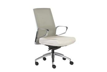 Kalmar Green And White Mesh Back Desk Chair