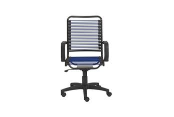 Bergen Blue High Back Bungee Desk Chair