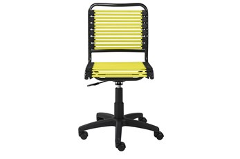 Oslo Lime Low Back Bungee Desk Chair