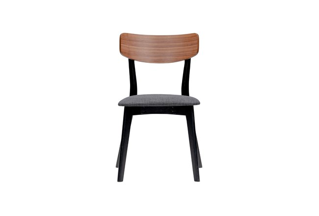 Fullerton Grey And Walnut Dining Chair-Set Of 2 - 360