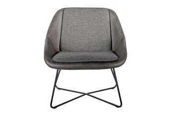 Cabazon Grey Accent Chair