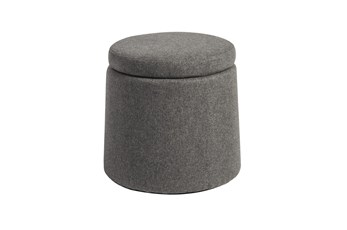 Tilt Light Grey Balance Storage Stool