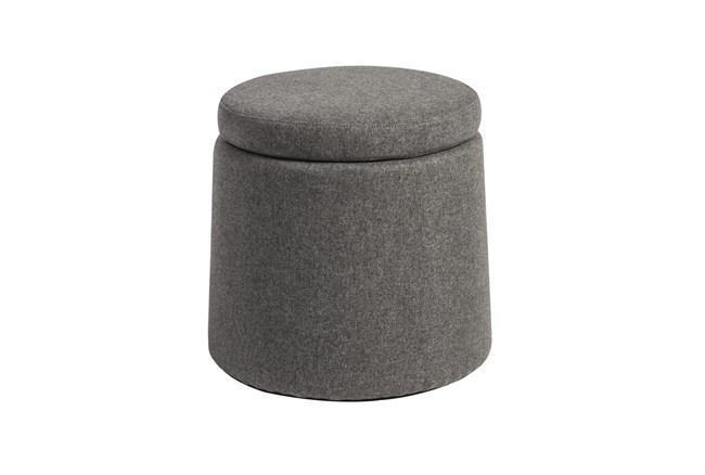 Tilt Light Grey Balance Storage Stool - 360