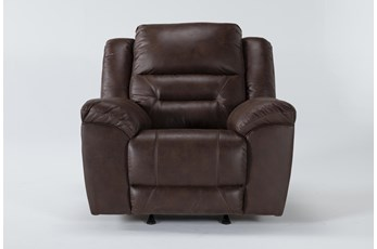 Stoneland Chocolate Rocker Recliner