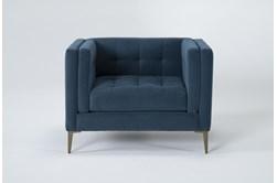 Wesley III Velvet Chair