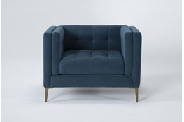 Wesley III Velvet Chair