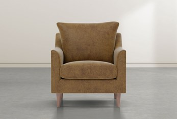 Zoe Caramel Accent Chair