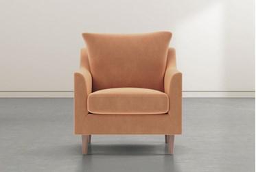 Zoe Orange Accent Chair
