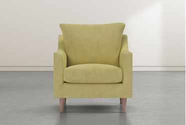 Zoe Yellow Accent Chair