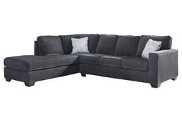 Altari Slate 2 Piece Sectional With Left Arm Facing Chaise