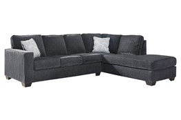 """Altari Slate 2 Piece 110"""" Sectional With Right Arm Facing Chaise"""