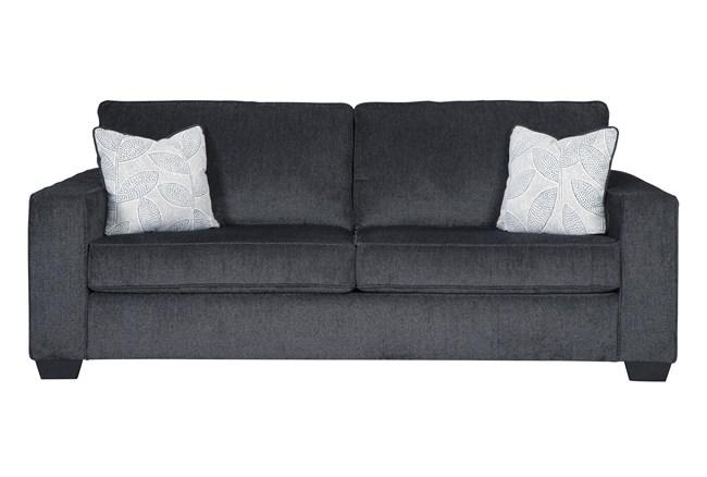 "Altari Slate 85"" Queen Sofa Sleeper - 360"