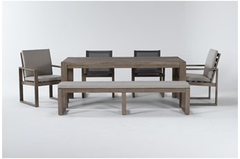 Malaga Outdoor 6 Piece Dining Set