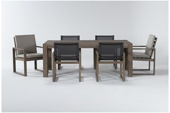 Malaga Outdoor 7 Piece Dining Set