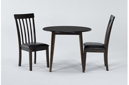 Hammis 3 Piece Dropleaf Dining Set