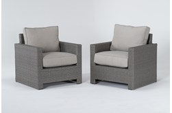 Mojave Outdoor 2 Piece Lounge Chair Set
