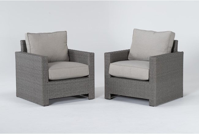 Mojave Outdoor 2 Piece Lounge Chair Set - 360