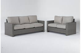 Mojave Outdoor 2 Piece Lounge Set