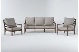 Catalina Outdoor 3 Piece Lounge Set