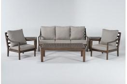 Catalina Outdoor 6 Piece Lounge Set