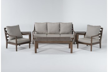 Catalina Outdoor 6 Piece Lounge Set