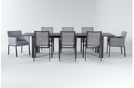 Ravelo Outdoor 9 Piece Extension Dining Set