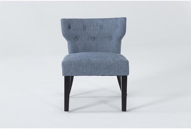 Ella II Blue Accent Chair - 360