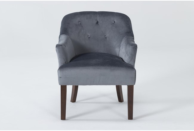 Amy II Grey Accent Chair - 360