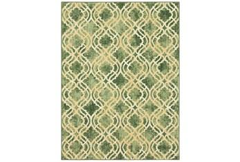 8'x11' Rug-Woven Quatrefoil Grey