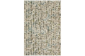 63X94 Rug-Speckled Oyster