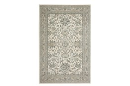 "5'3""x7'8"" Rug-Ornate Border Natural"