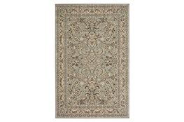 "5'3""x7'8"" Rug-Ornate Border Grey"