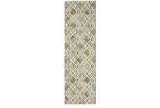 2'x3' Rug-Ornate Tapestry Grey
