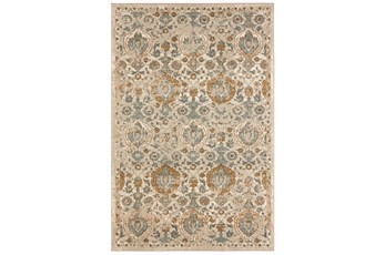 96X132 Rug-Blooming Fields Camel