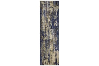 28X94 Rug-Stained Indigo
