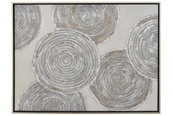 Picture-36X47 Layered Tree Rings