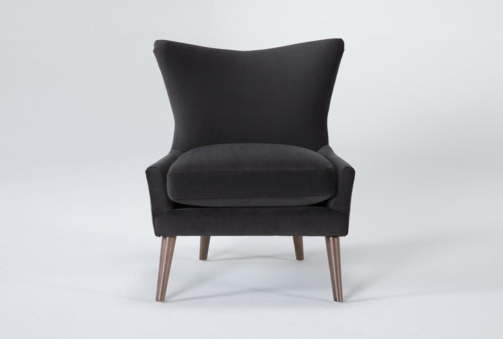 Tate III Gunmetal Accent Chair