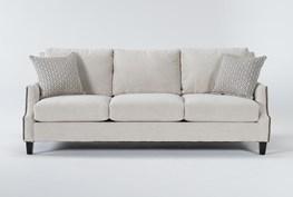 """Kayla II 88"""" Nailhead Sofa"""