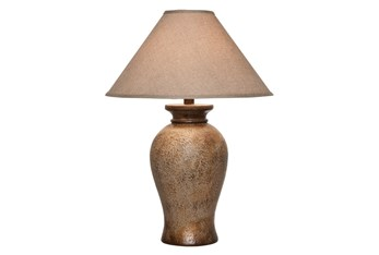 Table Lamp - 31 Inch Stone Gold