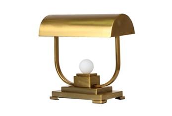 Desk Lamp - 19 Inch Gold Metal