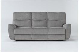 "Ronan Oatmeal 87"" Power Reclining Sofa"