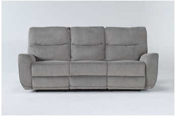 "Ronan Oatmeal 87"" Power Reclining Sofa"