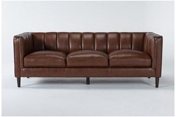 Tara Leather Sofa