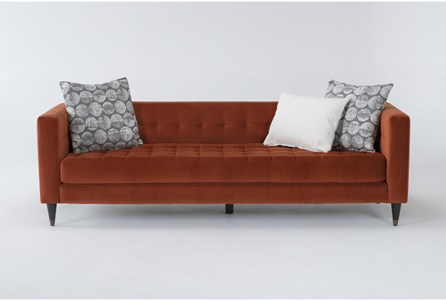 Tate IV Velvet Estate Sofa - Main