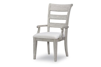 Bridgeport Ladder Back Dining Arm Chair