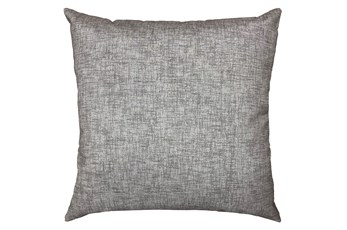 20X20 Taupe Textured Solid Outdoor Throw Pillow