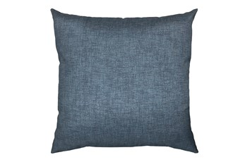 20X20 Black Charcoal Textured Solid Outdoor Throw Pillow