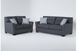 Jacoby Slate 2 Piece Living Room Set